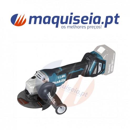 Makita AWS Minirebarbadora DGA518ZU 125mm + Kit de baterias 2
