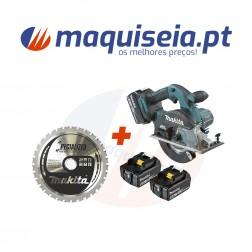 Makita Cortadora de metal 150 mm 18V 4,0Ah DCS551RMJ