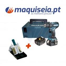 Makita Berbequim Aparafusador 18V LXT 50 Nm 5.0 Ah 2 DHP485RTJ