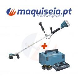 Makita Roçadora a Bateria 2x18V DUR365UZ + Kit de Baterias