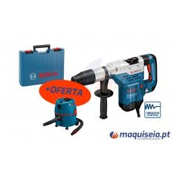 Martelo Perfurador Bosch SDS-MAX GBH 5-40 DCE Professional + Aspirador Gas 20 L SFC