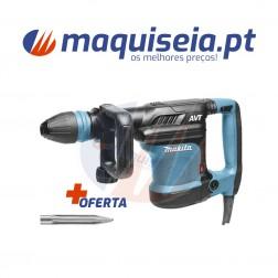 Makita Martelo Demolidor HM0871C com Sistema AVT SDS-Max