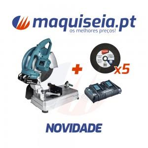 Makita Serra de metal 18Vx2 5.0Ah LXT BL 355mm DLW140PT2