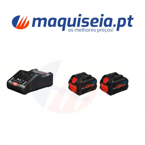 Bosch Kit Bateria 2x 8,0Ah + GAL 18V160