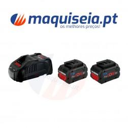Bosch Kit Bateria 2x 5,5Ah + GAL1880CV