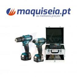 Combo Berbequim HP333D + Aparafusadora TD110D 12V CLX228SMX1