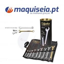 Beta Jogo com 9 chaves mistas boca/luneta, com bolsa especial 42/B9-80°