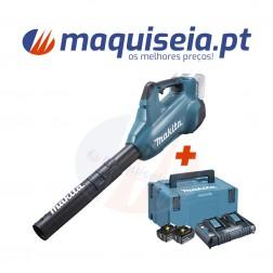 Makita Soprador a Bateria 2x18V DUB362Z + Kit de baterias