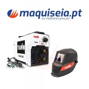 Telwin Inverter T-ARC 160 ACX + Máscara Lion